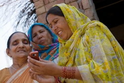 The mDiabetes initiative plans to reach 1 million people in India with text messages about diabetes prevention. Photo courtesy of Nokia.
